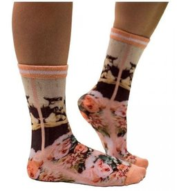 Sock my Feet Sock My Dog Lover - Woman