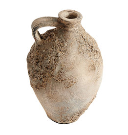 Muubs Pot / Bottle Jar - Trace - Echo 70 Terracotta - H: 42 Ø: 25 cm