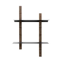 Muubs Wandrek hout-metaal / Shelf System Oaks S