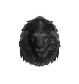 PT Living Muurhanger Origami Leeuw Lion Polyresin Mat
