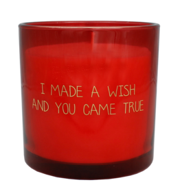 My Flame Sojakaars Glas - I made a wish and you came true - Geur: Unconditional