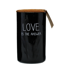 My Flame Sojakaars Glas - Love is the answer - Geur: Warm Cashmere