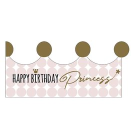 Mail-Box Mailbox - Kaart -Happy birthday Princess Kings and Queens