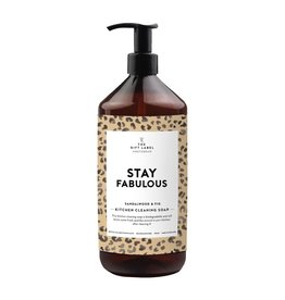 The Gift Label Afwasmiddel - Stay Fabulous