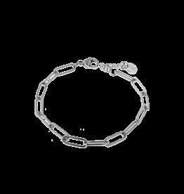 Label Kiki Hold on bracelet silver