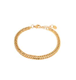 Label Kiki Big snake bracelet gold