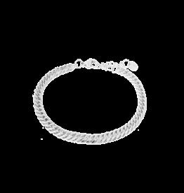 Label Kiki Big snake bracelet silver