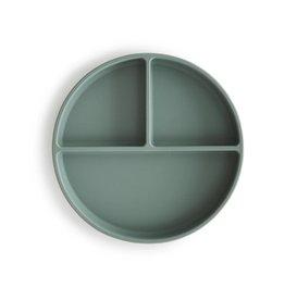 Mushie Mushie Silicone plate - Cambridge Blue