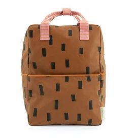 Sticky Lemon Sticky Lemon Backpack Large - Sprinkles special edition - Syrup brown - Bubbly pink - Carrot orange