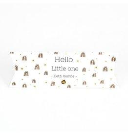 The Big Gifts Gondeldoosje bath bombs - Hello little one