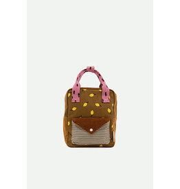 Sticky Lemon Small backpack corduroy | special edition | dijon + gingerbread