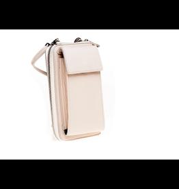 Elvy Demi Phone Wallet Bag - Ecru