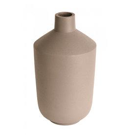 Present Time Vaas Nimble Bottle 18 cm  - Hazelnootbruin