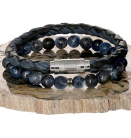 Pimps and Pearls My Hero 01 Blue Sodalite - Men