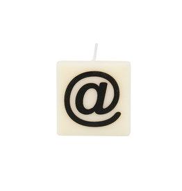 The gift label Letter- en cijferkaarsen - @