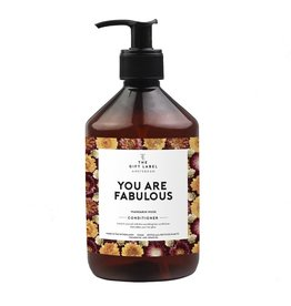 The gift label Conditioner 500 ml - You are fabulous