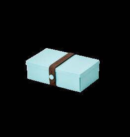 Uhmm Uhmm Lunch box 01 - Rechthoek Mintgroen -