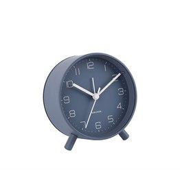 Karlsson Alarm Clock Wekker - Lofty - Night Blue 11 cm