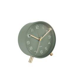 Karlsson Alarm Clock Wekker - Lofty - Metal Green 11 cm