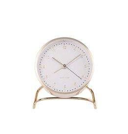 Karlsson Alarm Clock Wekker - Stylish  Numbers White