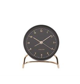 Karlsson Alarm Clock Wekker - Stylish  Numbers Black