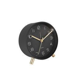 Karlsson Alarm Clock Wekker - Lofty - Metal Black 11 cm