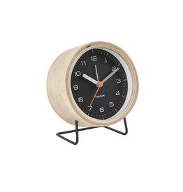 Karlsson Alarm Clock Wekker - Innate XL Black