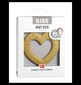 Bibs BIBS - Bijtring Hart | Mosterd