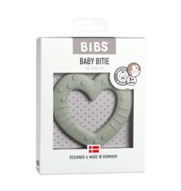 Bibs BIBS - Bijtring Hart | Sage