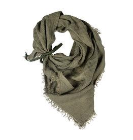Pimps and Pearls Dress2kill Triangle Sjaal -  10 Olijf groen