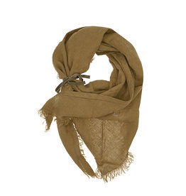 Pimps and Pearls Dress2kill Triangle Sjaal -  40 Tabac Bruin