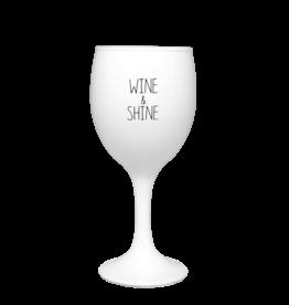 My Flame Sojakaars - Wijnglas - Wine and Shine - Fresh Cotton