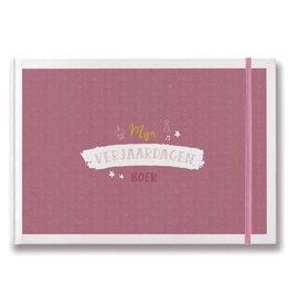 Maan Mijn Verjaardagenboek - roze