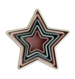 Mushie Stapeltoren Sterren - Stacking Cups Nesting Star