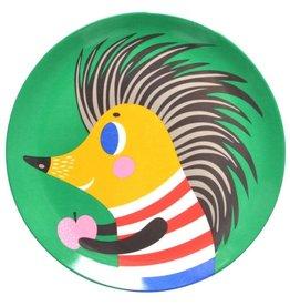 Petit Monkey Melamine bord - Egel - Groen