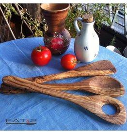 Bijzonder Design Store Kook- en Pannen Lepel Set 3 stuks - Olijfhout - 30 cm