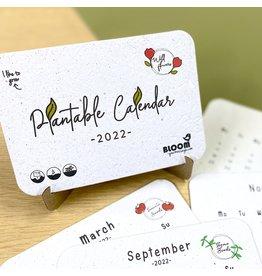 Bloom Plantbare Kalender 2022 - Van bloeipapier