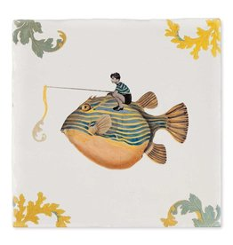 StoryTiles Catch of the Day   Goede Vangst   10x10cm