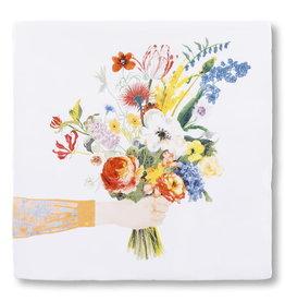 StoryTiles Flowers say it all   Een bloemetje voor jou   10x10cm