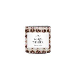 The Gift Label Geurkaars in blik small  - Warm Wishes - Jasmijn Vanille