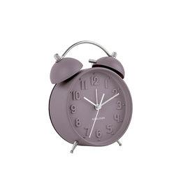 Karlsson Alarm clock Wekker Iconic Dark Purple