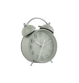 Karlsson Alarm clock Wekker Iconic Grayed Jade