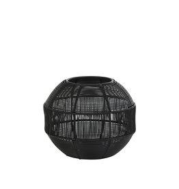 Light and Living Windlicht - Hurricane Ø17x14 cm PILKA matt black