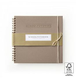 House of Products Schoolfotoboek - Linnen - Taupe