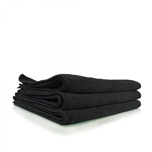 Professional Microfibre Black Towel 40x40-2