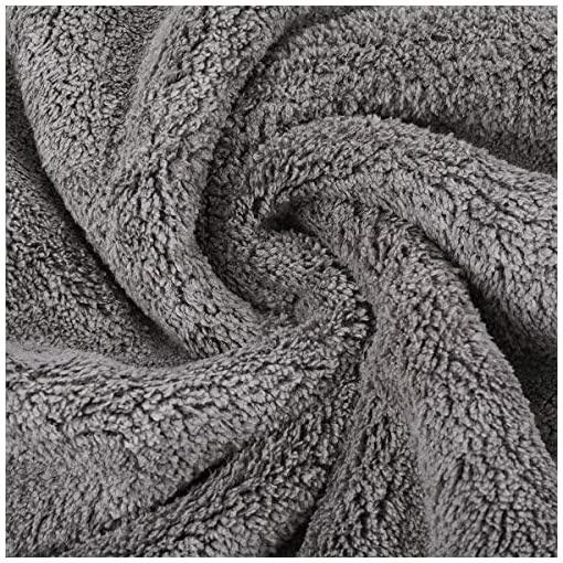 Double Sided Plush Microfiber Towel 44x38cm-2