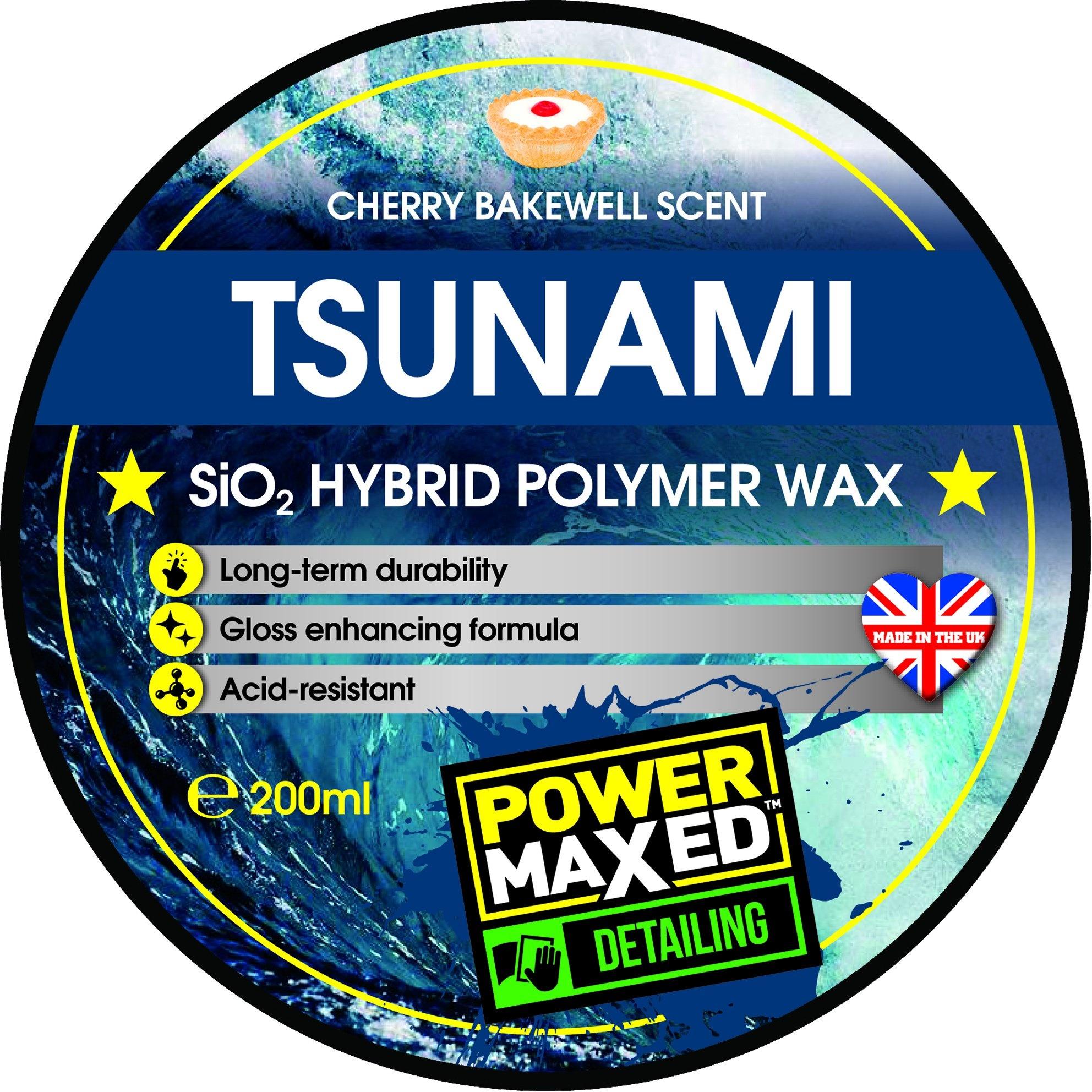 Tsunami  Hybrid Polymer Wax 200ml-2