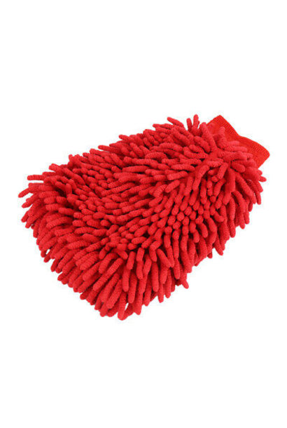 Chenille Washmitt Microfiber Red-Pink