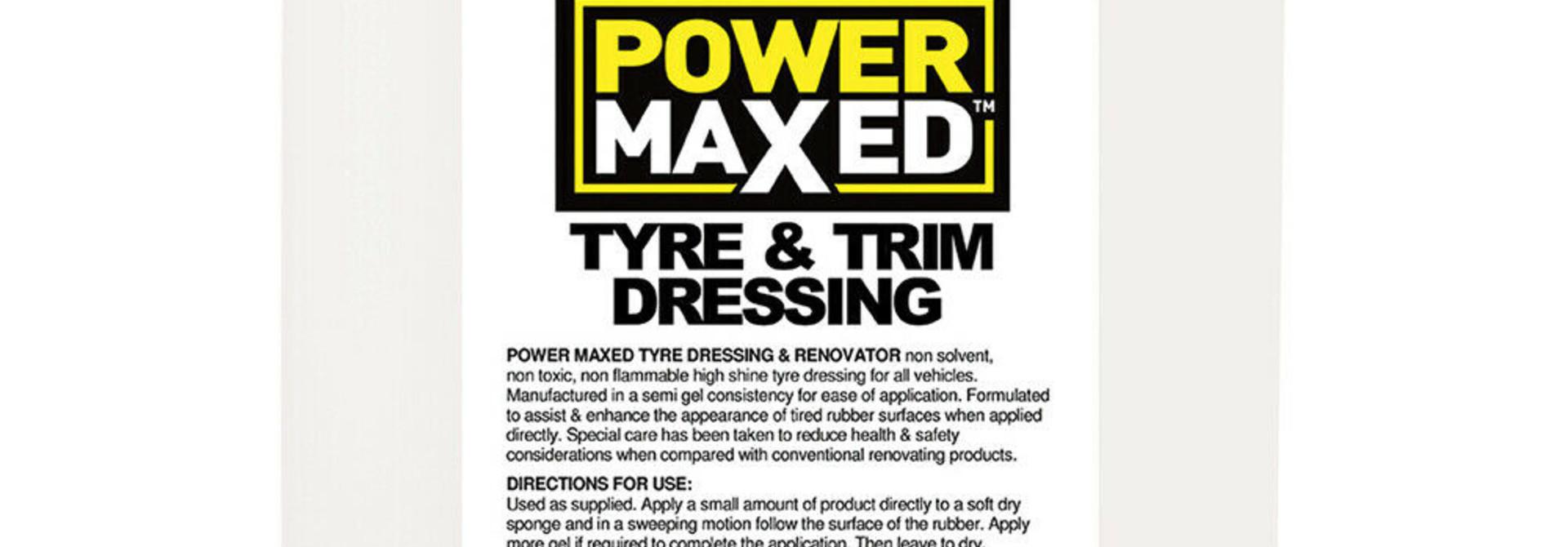 Tyre & Trim Dressing  5L
