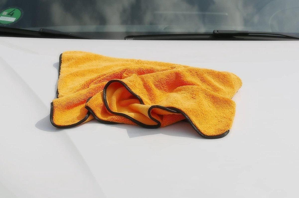 Big Fat Orange Drying Towel 60x90-2